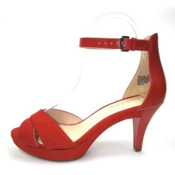a572547327a Nine West Heels Size 5.5 Red. M 5aff3a6f61ca10491bf0e2ae
